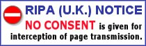 RIPA (U.K.) NOTICE:  NO CONSENT is given for interception of page transmission.